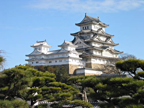 photo of Himeji Castle in Japan
