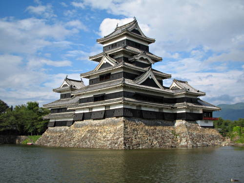 Matsumoto Castle, Photo of Japanese castles