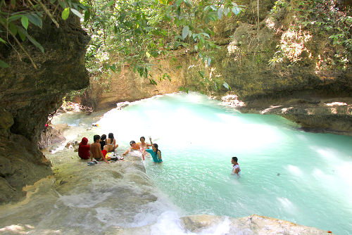 Photo of Samboan Fall on Cebu Island, Philippines