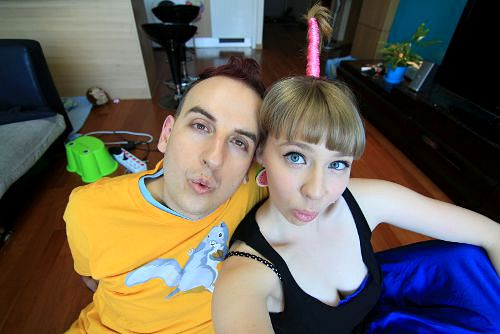 Photo of Simon and Martina from EatYourKimchi.com
