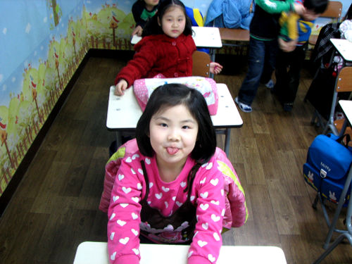 Photo of English Students in Seoul, South Korea