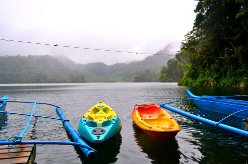 Photo of a Lake on Negros Oriental, Philippines