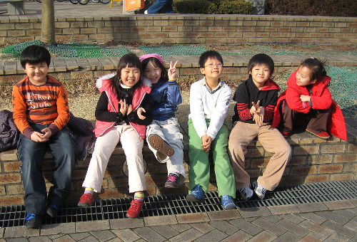Photo of English Students, South Korea