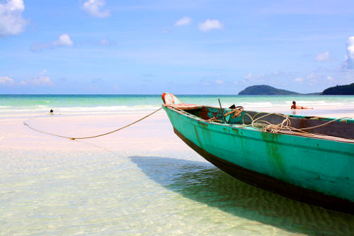 Photo of a Beautiful Beach on Phú Quốc, Vietnam